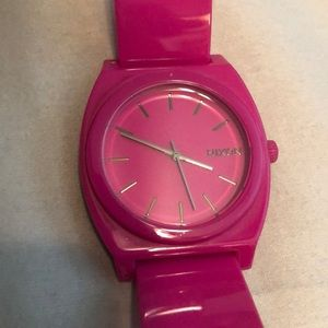 NIXON HOT PINK WATCH
